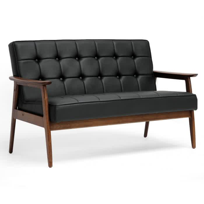 Photo Olx Sofa Karachi Images Sofa Come Bed Olx Karachi  : Dark brown wood framed couch idea with tufted black leather upholstery  from ffsconsult.me size 700 x 700 jpeg 18kB