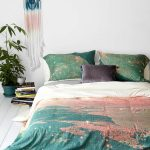Dreamy Abstract Design Of Urban Outfitter Bedding
