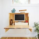 Fold computer desk idea