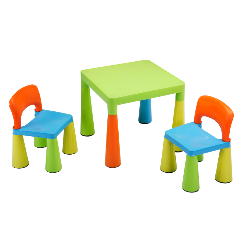 Folding Children Small Table And Chair Set For Toddlers