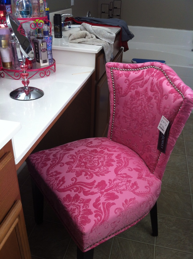 pink chair for bedroom newest selections of makeup vanity chair homesfeed 16728