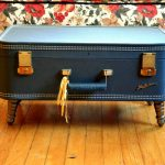 Funky coffee table that looks like suitcase