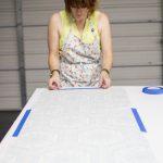 Giving Pressure Sensitive Styrene On Fabric