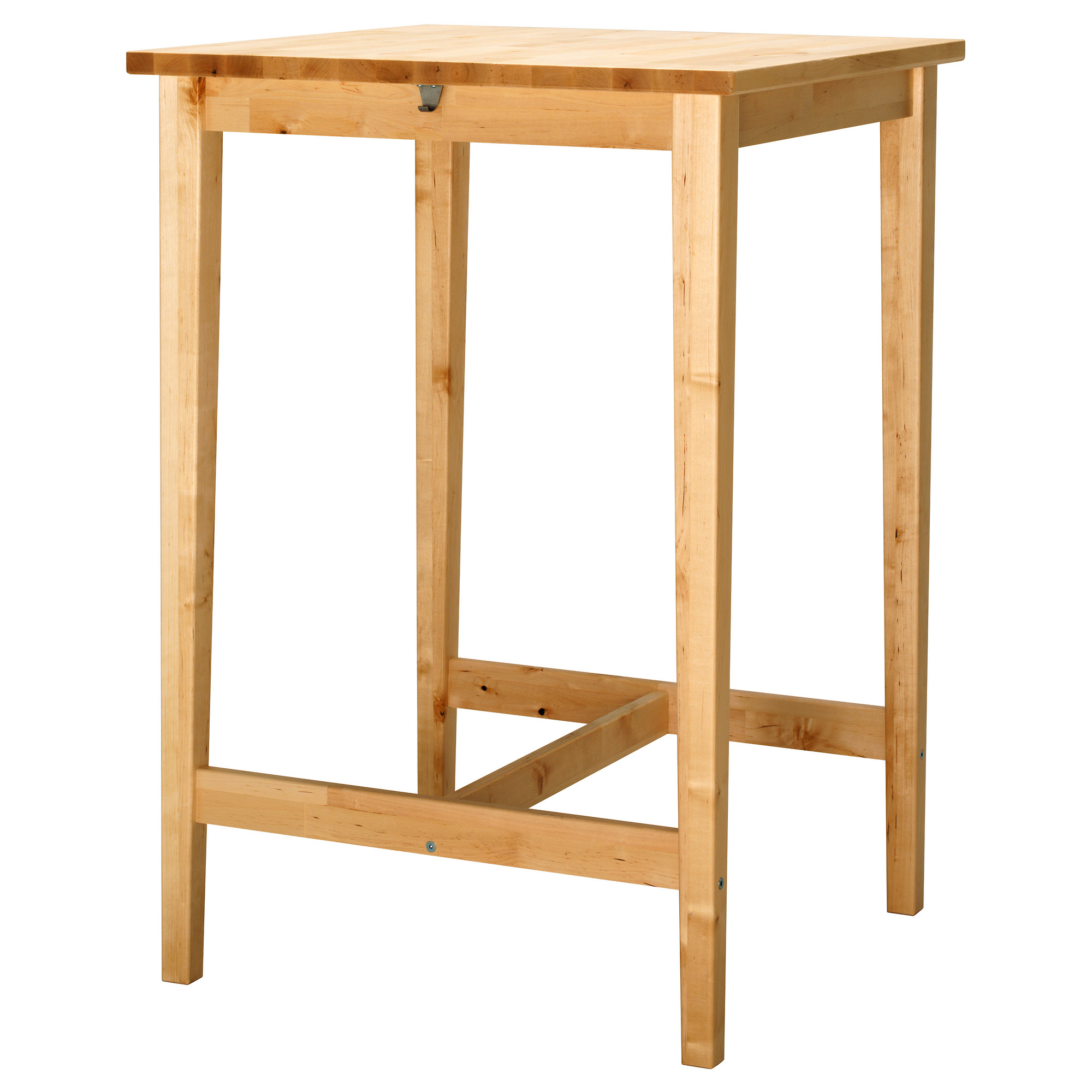 Good Natural Wooden High Top Tables Ikea