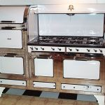 Grey And White Antique Looking Stoves