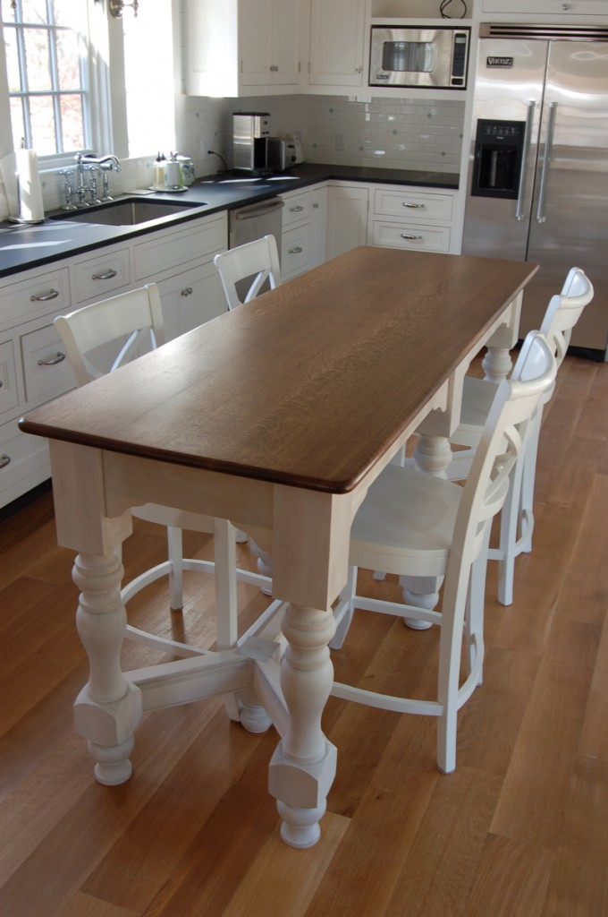 kitchen island table with 4 chairs ikea counter height table design ideas homesfeed 9668