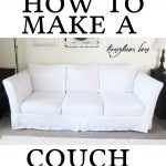 How To Make White Slipcovers For Leather Couches