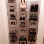 IKEA shoe holder idea for entry hall