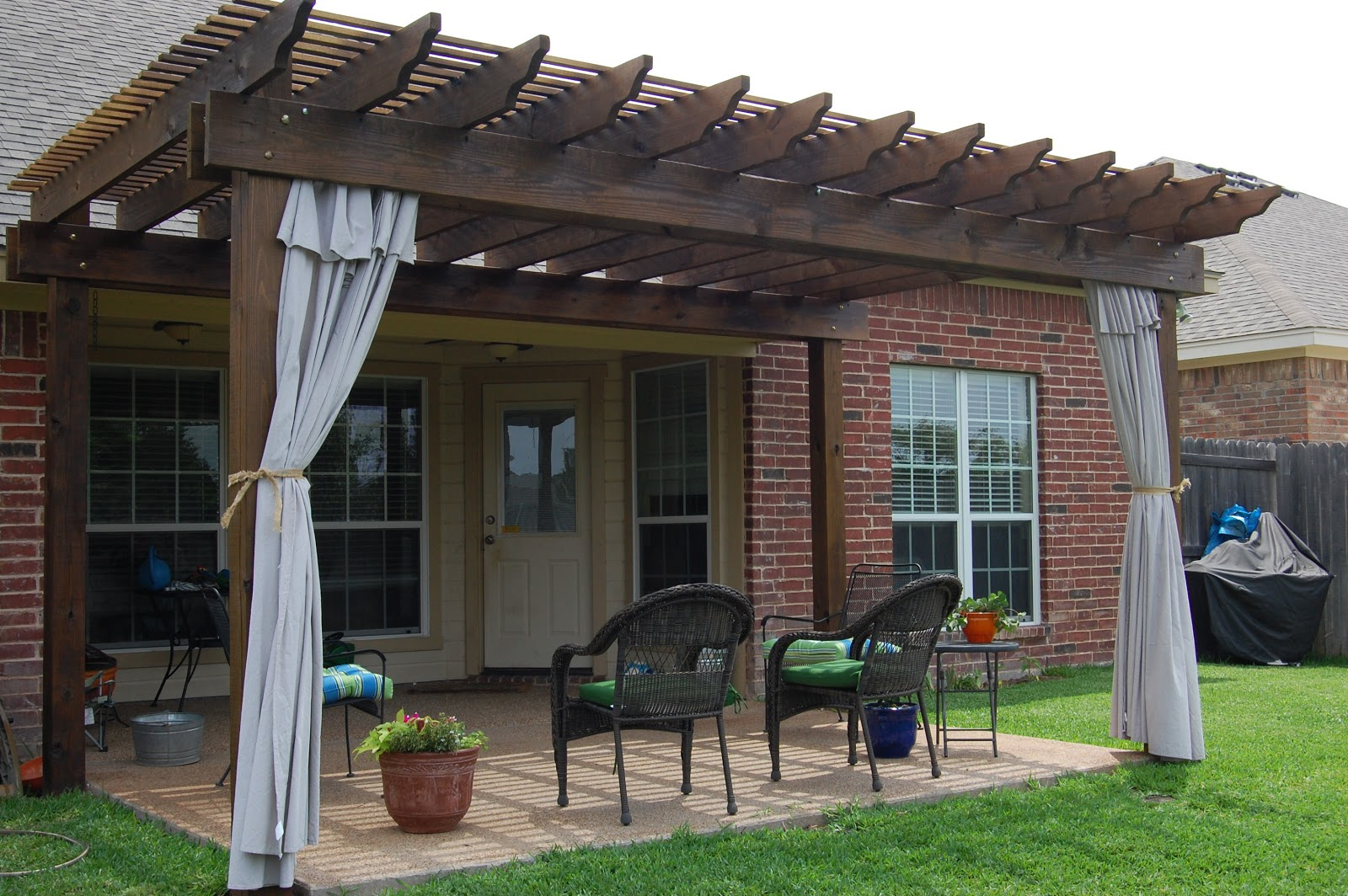 Pool Patio Curtains