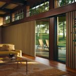 Long And Big Curtains For Glass Door Coverings With Sectional Sofa Coffee Table And Decorative Rug