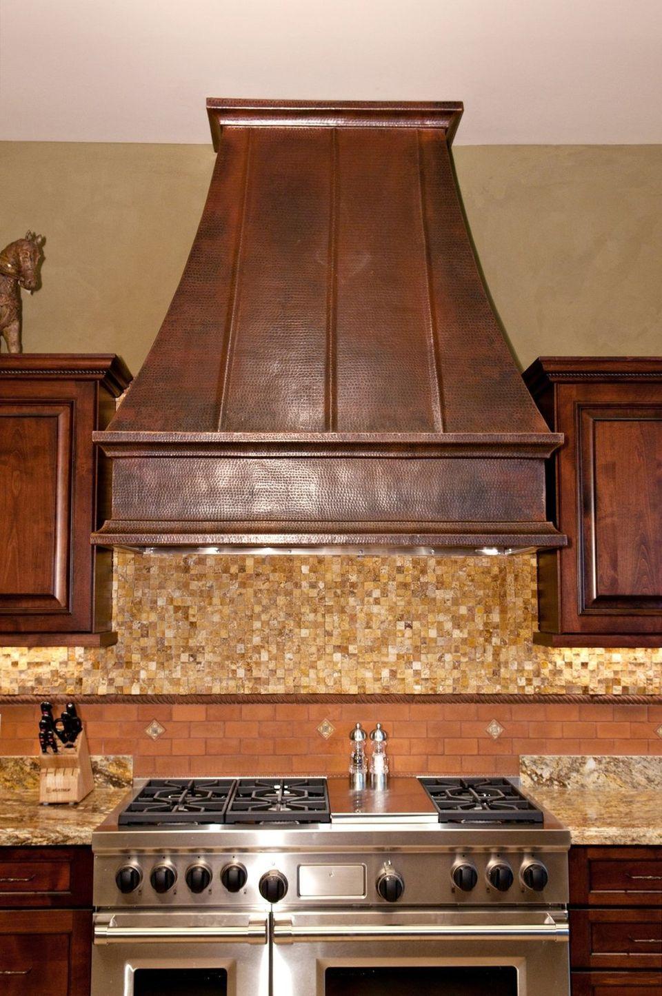 Amazing Wood Vent Hood HomesFeed