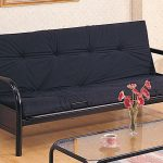 Most Comfortable Futons Sofa Bed With Wrought Iron Frame And Glass Top Table