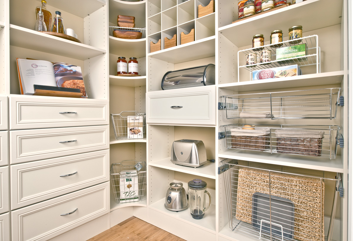 Good Walk In Pantry Shelving Systems