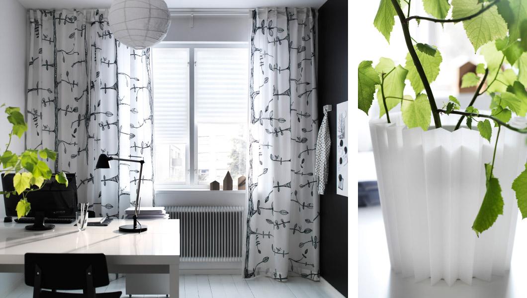 White Home Office Ikea