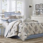Pyrenees Harbour House Bedding With Leaves And Bird Awesome Design And Pretty Frames Near White Cabinet