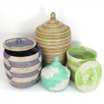 Simple Design Color Of Senegalese Storage Baskets