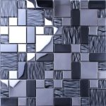 Simple and elegant decorative mirror mosaic tiles