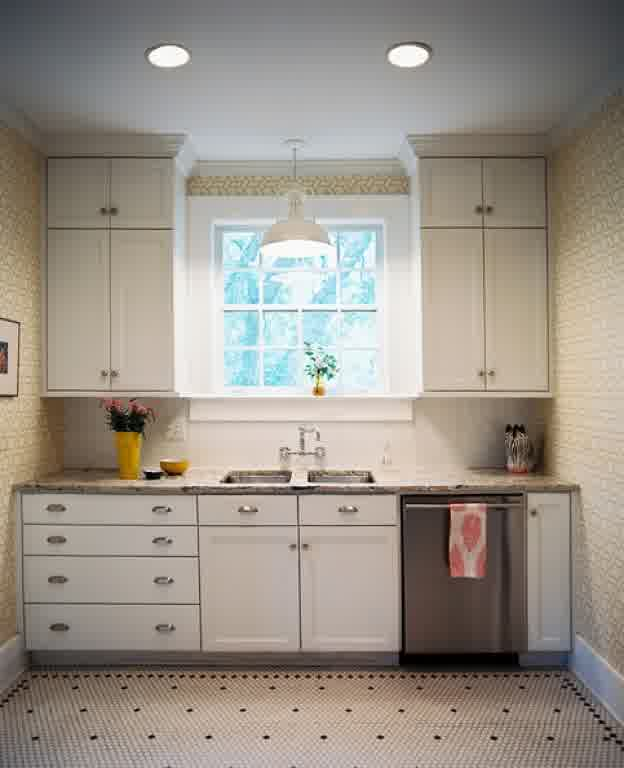 Simple Kitchen Sink Cabinet: Over-The-Sink Lighting Ideas