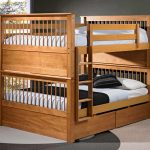 Solid Wood Of Sturdy Bunk Beds For Adults