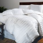 Thic and cozy white comforter for california king bed