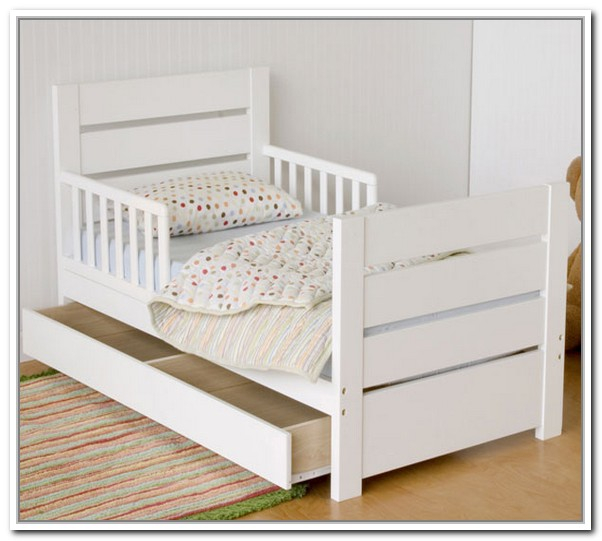 toddler bed with storage furniture toddler beds with storage homesfeed 17528