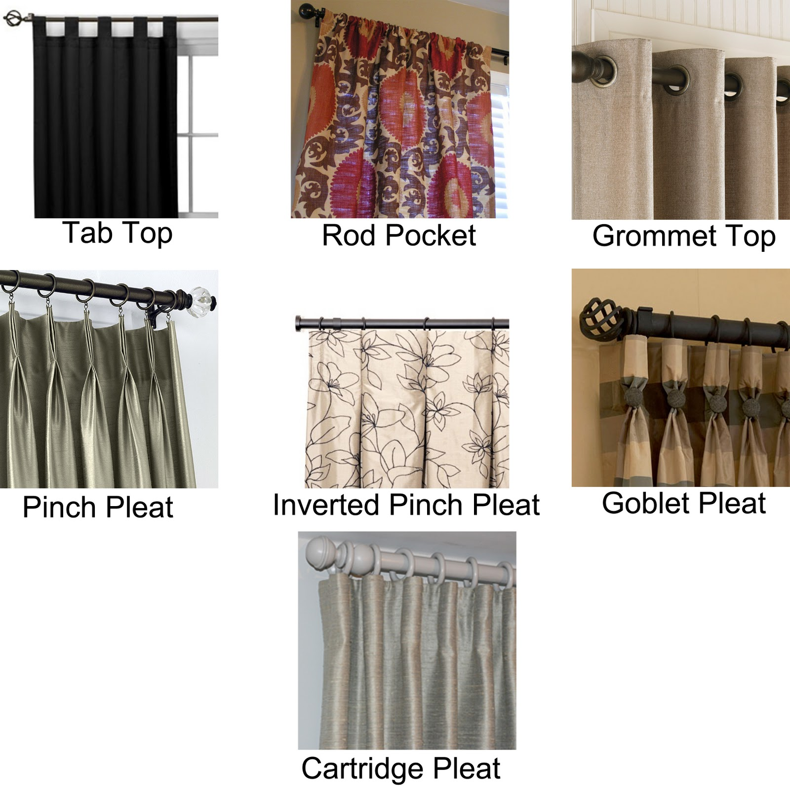 types of curtain rods Best Types of Curtain Rods | HomesFeed types of curtain rods