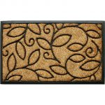 Vine Leaves Double Door Mat
