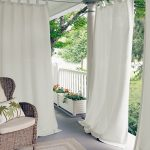 White Indoor Outdoor Curtains Kingsley Bate Furniture