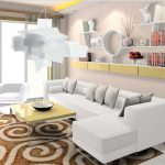 White Big Bang Pendant Lamp For Modern Living Room