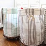 Wire Laundry Baskets With Wheels