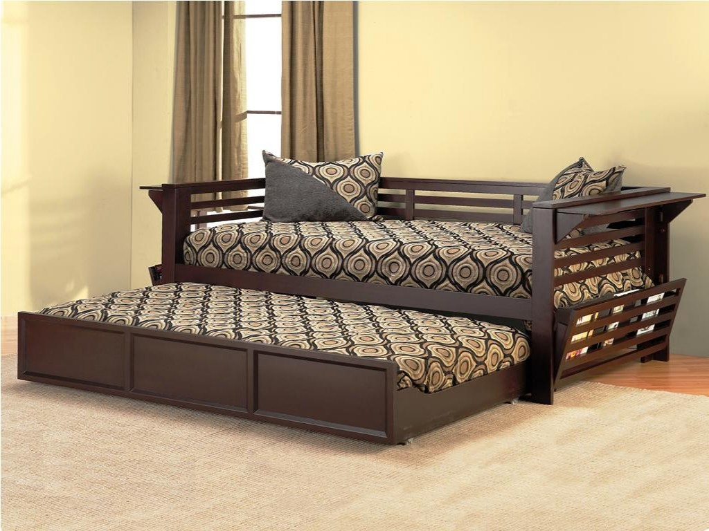 queen size daybed with trundle daybed with trundle designs and pictures homesfeed 7623
