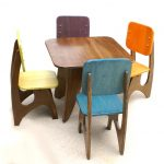 Wooden Table And Chair Set For Toddlers