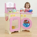 Wooden toy kitchen design
