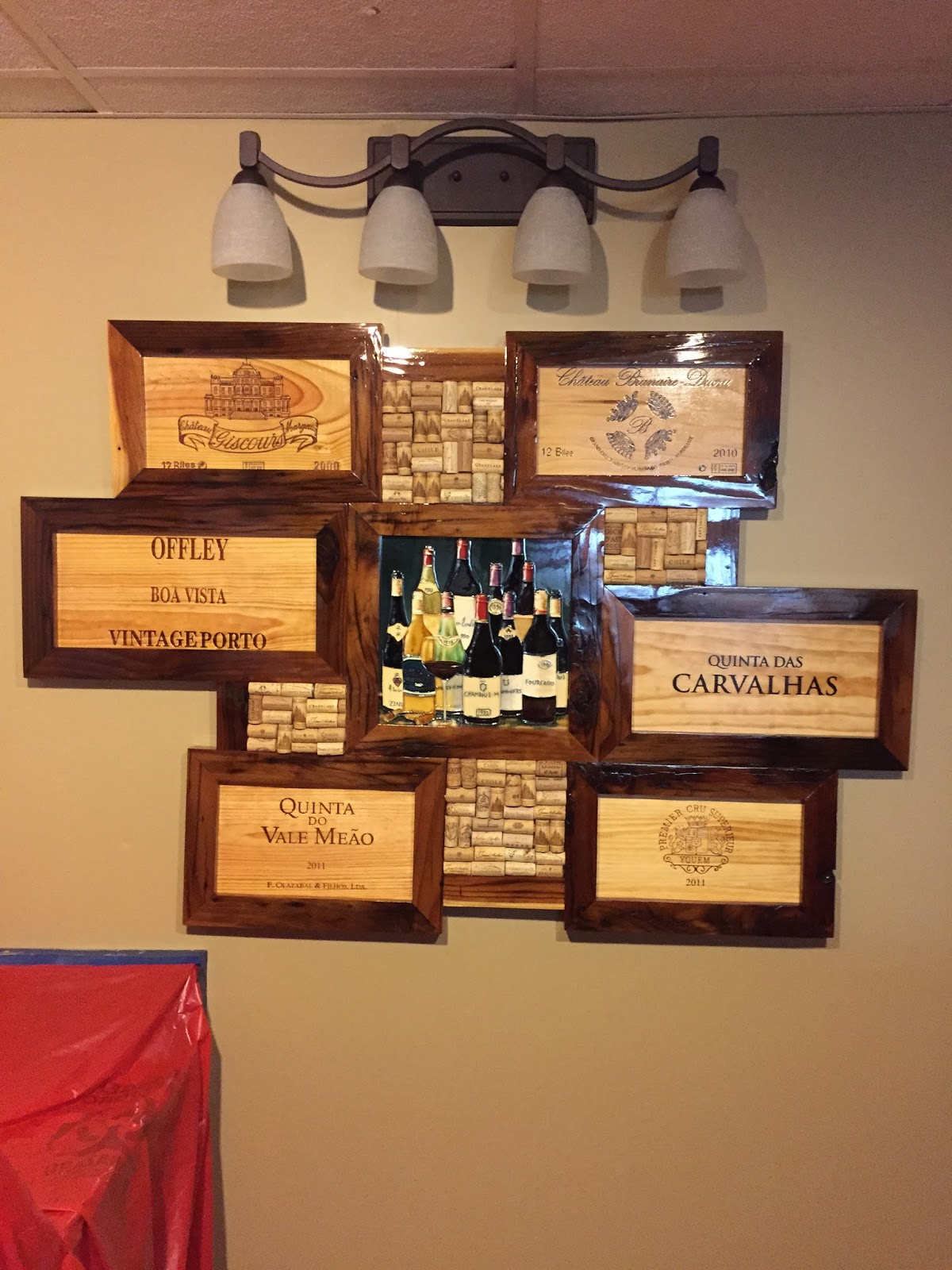 Creative Works From Vintage Wine Crates Homesfeed