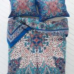 Artistic Dark Blue Patterned For Plum And Bow Bedding