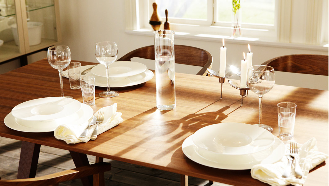 Awesome Ikea Stockholm Dining Table Wit Dinette Set