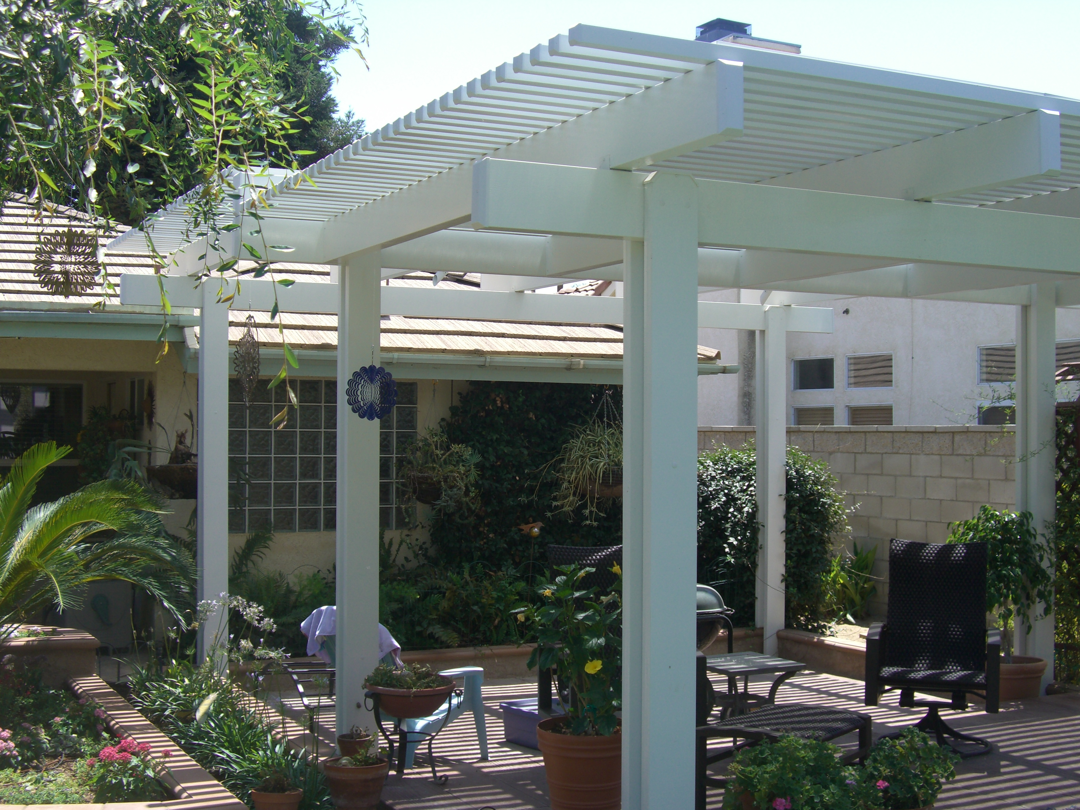 Natural Wooden Patio Covers - HomesFeed on Patio Cover Ideas Wood id=17491