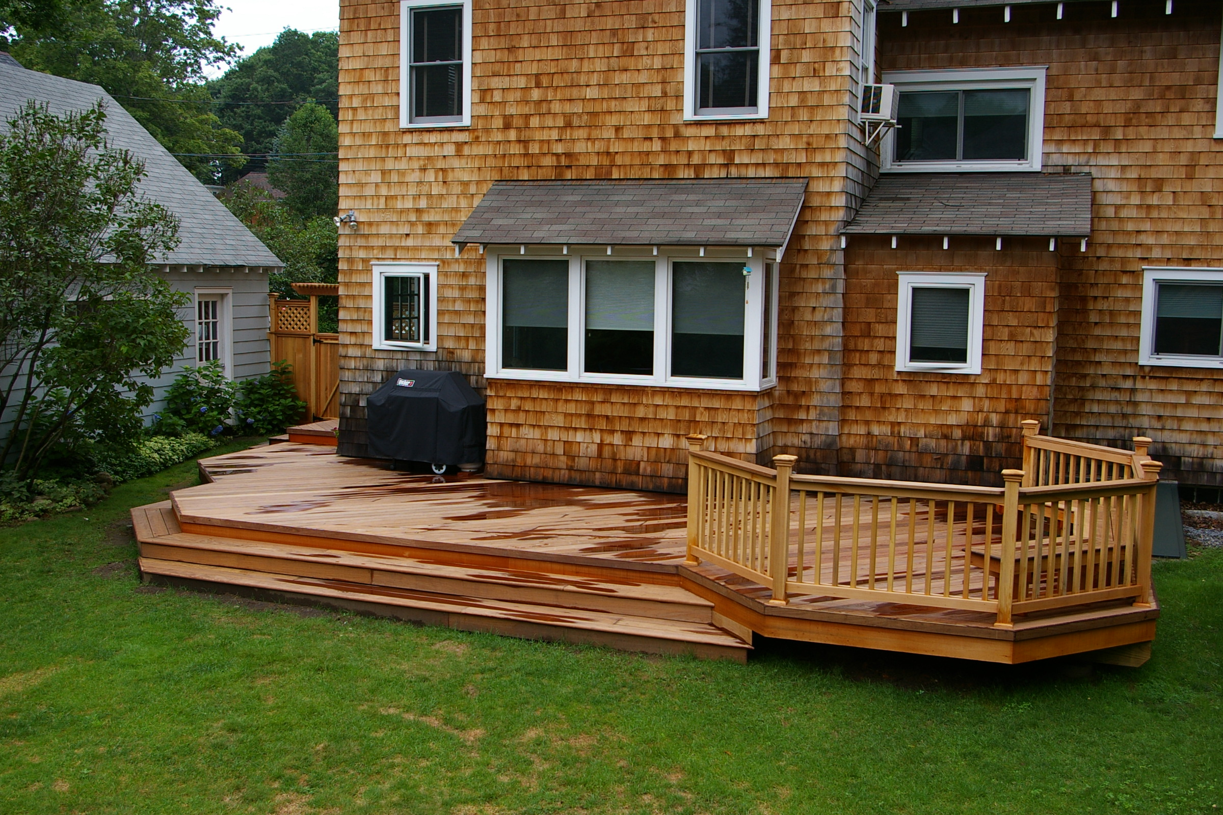 Awesome Home Deck Designs - HomesFeed on Back Deck Designs For Houses id=84643
