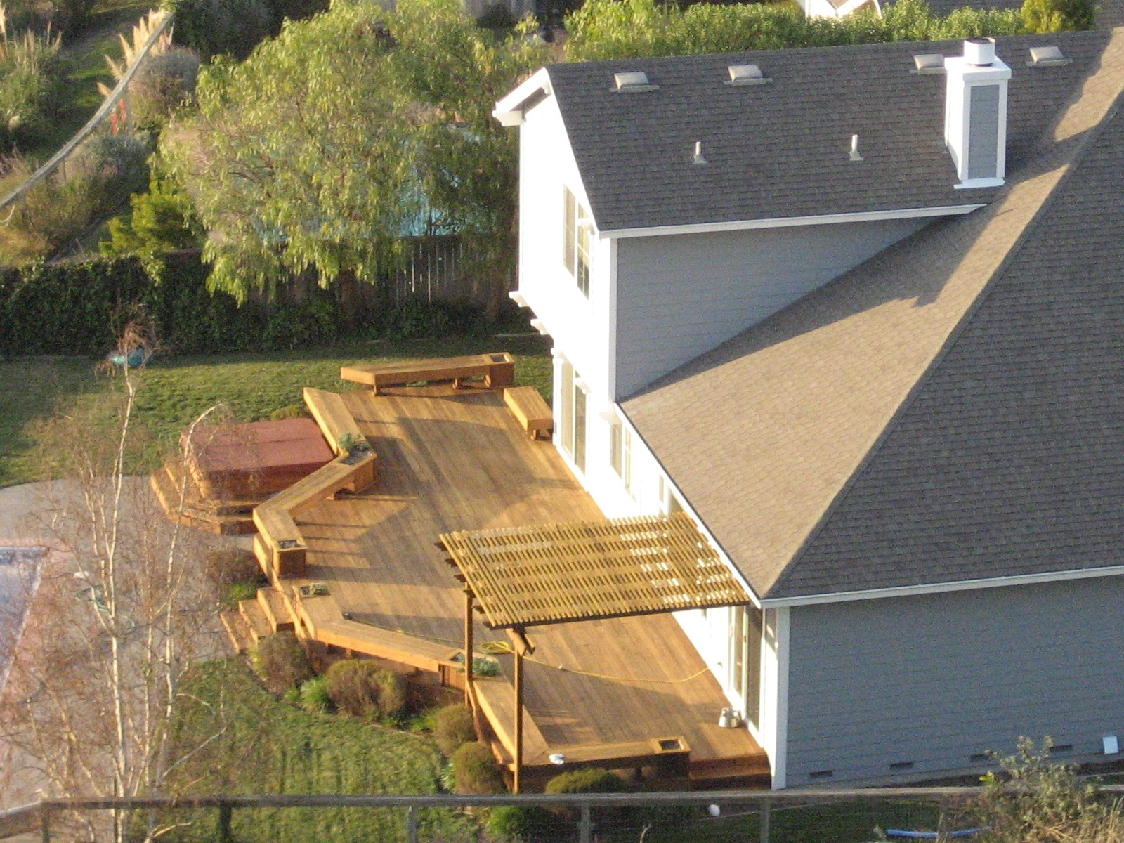 Awesome Home Deck Designs   HomesFeed on Back Deck Designs For Houses id=40385