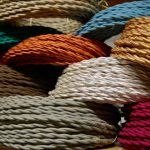Collection Of Fabric Cord Covers With Many Colors
