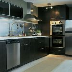 Cool Ikea Stainless Steel Backsplash And Diswasher Plus Dim Lighting