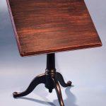 Dark Wooden Drafting Table