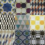 Decorative Pattern Removable Wall Tile