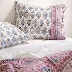 Decorative Plum And Bow Bedding