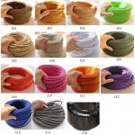 Electrical Wire COlor Of Fabric Cord Covers