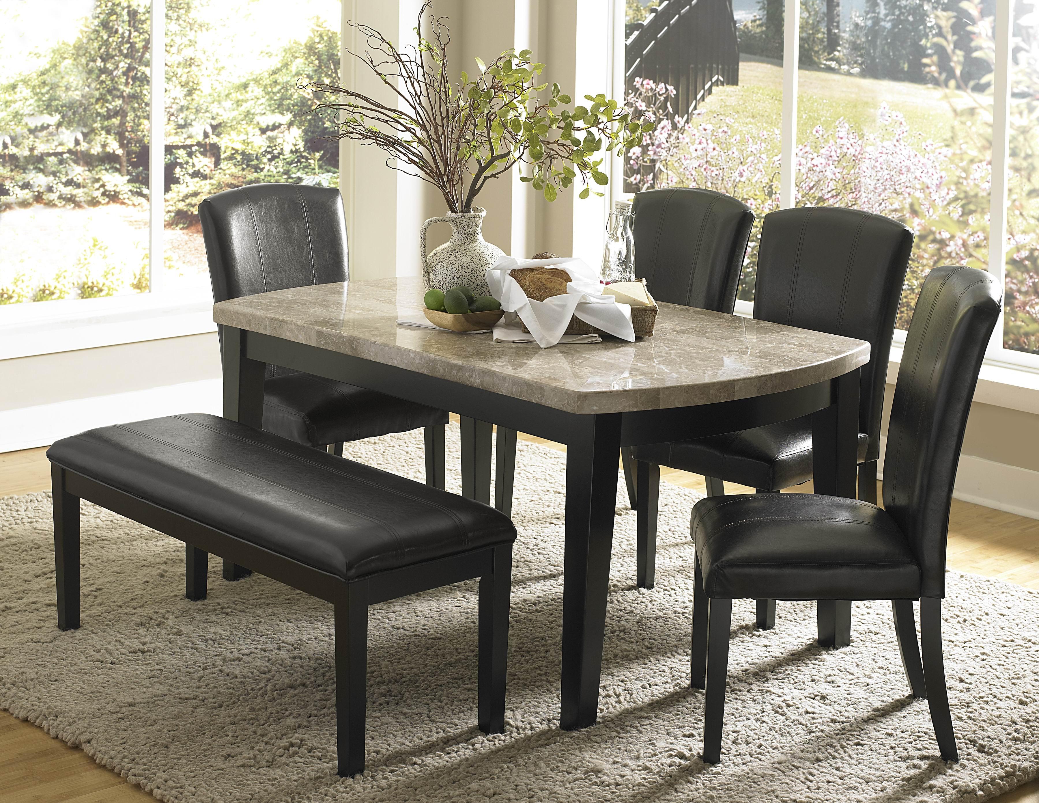 Beautiful Granite Dining Table Set Homesfeed