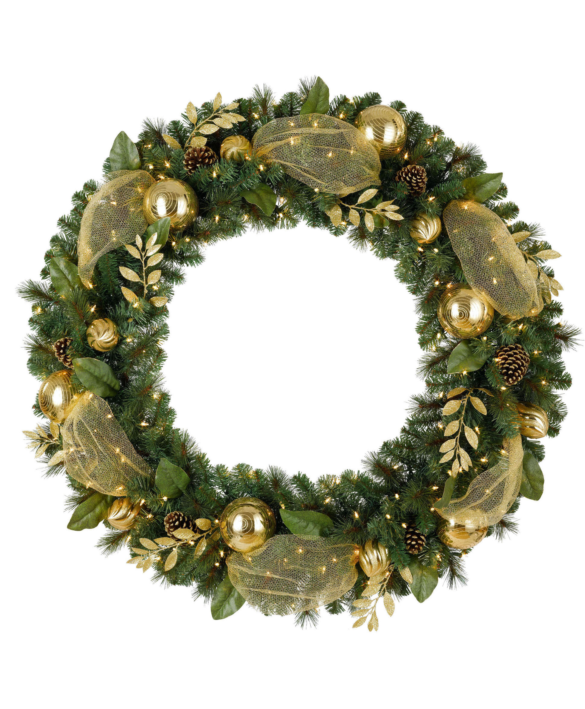 Gold Christmas Wreath.Beautiful Pictures Of Christmas Wreaths Homesfeed