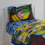 Kids Bedroom With Superhero Bedding Sets