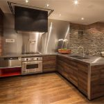 Kitchen Wall Covering Ideas With Steel Kitchen Set