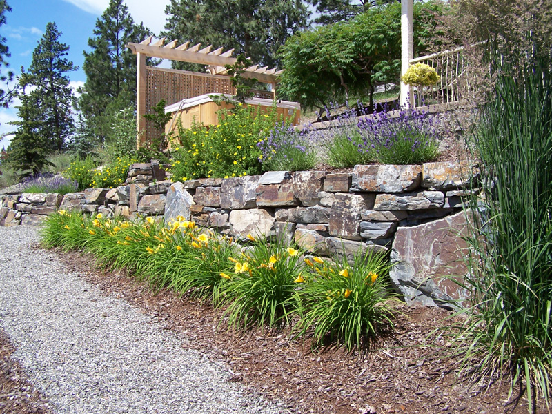 Natural Large Rocks For Landscaping | HomesFeed on Rocks In Backyard  id=56112